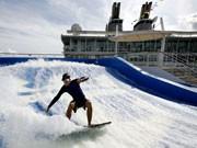 Jungfernfahrt des größten Kreuzfahrtschiffes der Welt Oasis of the Seas, AP