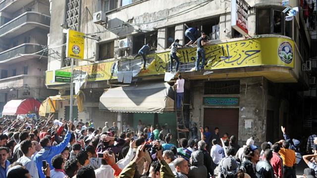 Ägypten nach Mubarak Proteste gegen ägyptischen Präsidenten Mursi