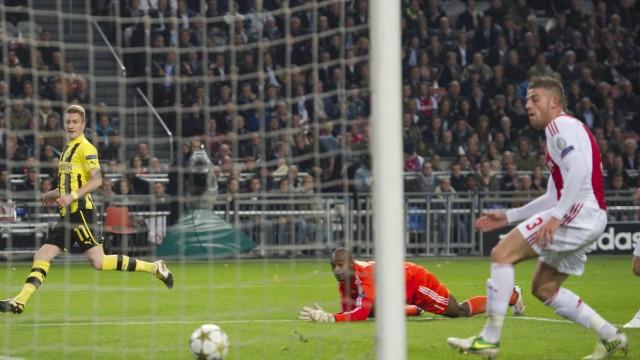 Ajax Amsterdam vs Borussia  Dortmund