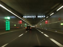 Freigabe des Richard-Strauss-Tunnels in München, 2009