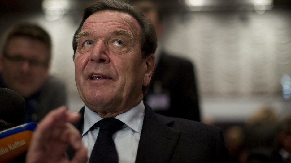 Peer Steinbrueck Attends Lower Saxony SPD Convention