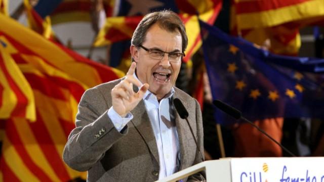 Katalonien Regionalwahl Mas