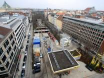 Areal an der Herzog-Wilhelm-Straße in München, 2011