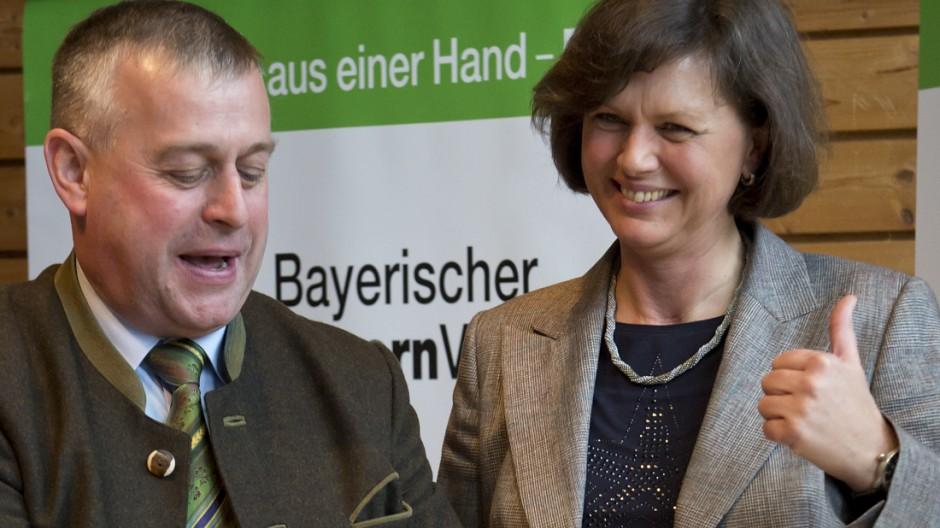 Landesversammlung des Bayerischen Bauernverbandes mit Bundesagrarministerin Aigner