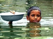 Überschwemmung in Bangladesch