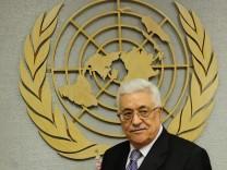 UN Palästinenser Abbas