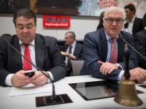 SPD-Fraktionschef Frank-Walter Steinmeier