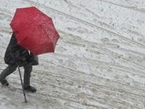 Kampf gegen Schneeflocken