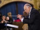 Blechbläser Hofbräuhaus Chefdirigent Lorin Maazel dirigiert die Blechbläser der Münchner Philharmoni