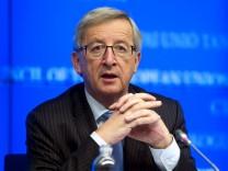 Jean-Claude Juncker Euro-Gruppe Euro