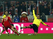 Munich's Kroos scores against Borussia Dortmund during their German Bundesliga first division soccer match in Munich