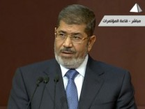 Ägypten Mursi Verfassung