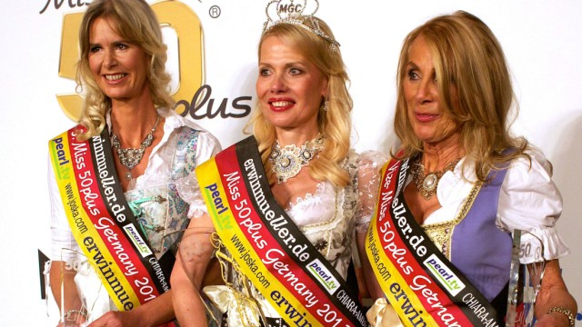 Finale 'Miss 50plus Germany'