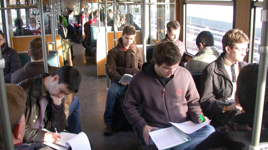 U-Bahn zum Campus in Garching: Die TU-Studenten haben dorthin eine besonders lange Anreise.