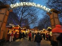 Weihnachtsmarkt am Sendlingertor.