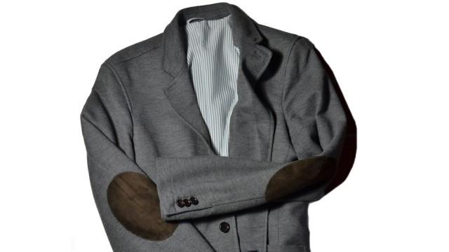 Fashionspießer: Ellenbogen Patches Verflickt und zugenäht