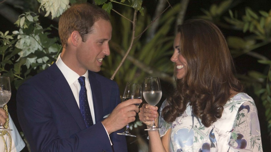 FILE: Catherine, Duchess of Cambridge Expecting Baby