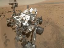 Curiosity Mars organische Teilchen