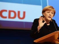 Angela Merkel CDU Parteitag Hannover