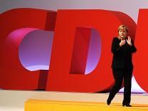CDU Bundesparteitag Angela Merkel