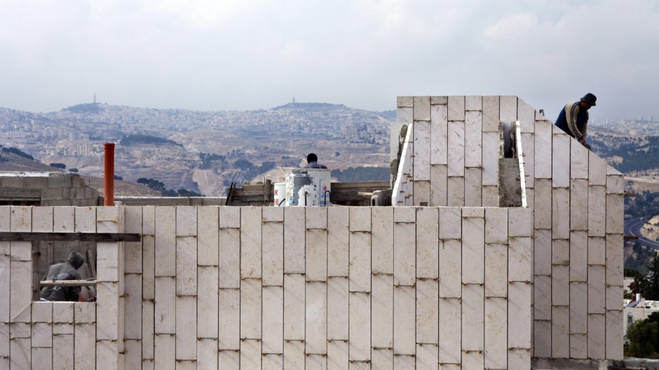 Israel to build 1,600 new homes in occupied East Jerusalem