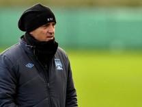 Fußball Manchester City Roberto Mancini