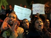 Oppositionelle auf den Straßen Kairos