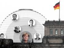 Merkels engster Machtzirkel Interaktiv Teaser
