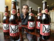 BGH verhandelt Lizenzstreit zu 'Duff'-Bier