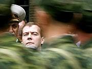 Georgien-Krieg: Ein Jahr danach, Medwedjew, Saakaschwili, dpa