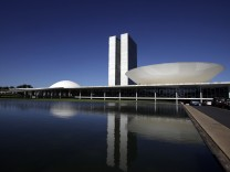 Architekt, Architektur, Oscar Niemeyer, Nationalkongress in Brasilia