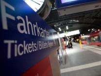 Bahn Fahrpreis Erhöhung Bahnfahrt Fernverkehr