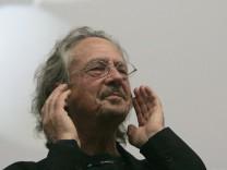 Schriftsteller Peter Handke