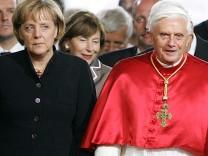 Forbes mächstigste Menschen der Welt, Benedict XVI, Angela Merkel