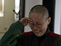 Liu Xia, die Frau des Friedensnobelpreisträgers Liu Xiaobo