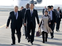 UN Secretary General Ban Ki-moon visits Iraq