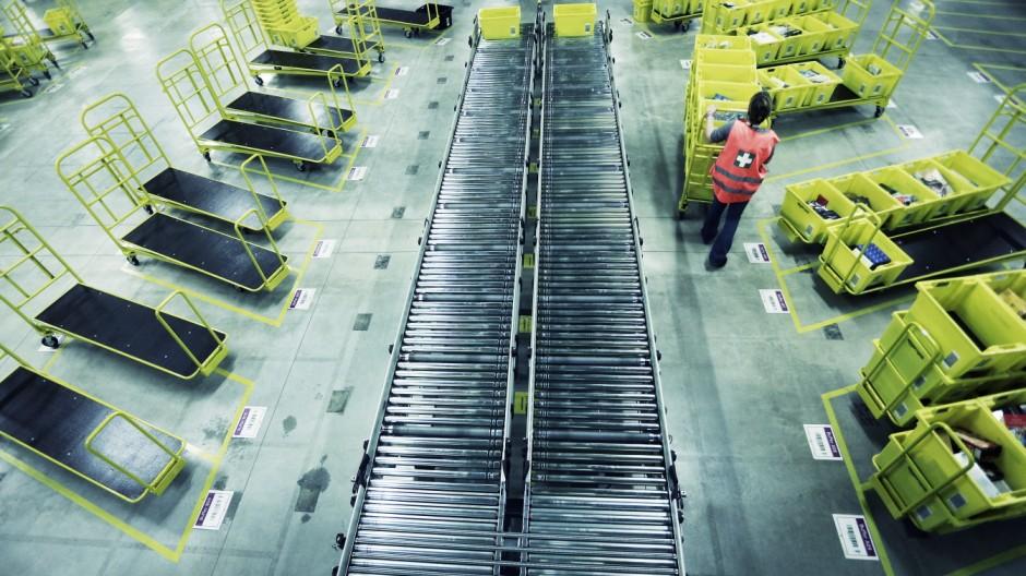 Graben: AMAZON - Logistikzentrum