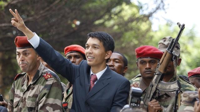 Madagaskar Oppositionschef ernennt sich selbst zum Präsidenten