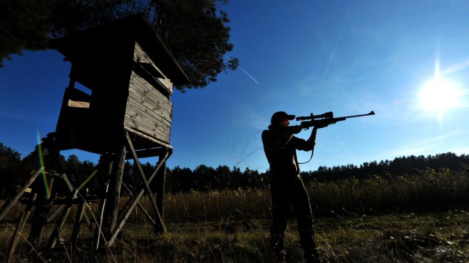 Jagd bei jungen Leuten und Frauen im Trend