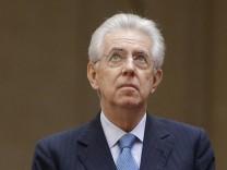 Mario Monti Rücktritt Italien