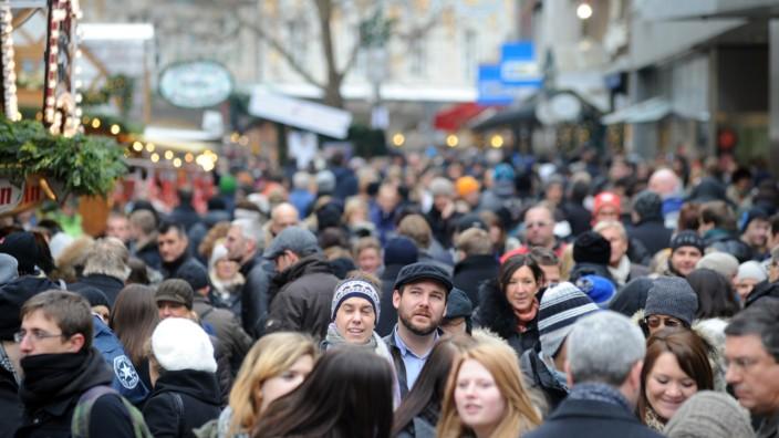 München wird immer größer: 115.000 Bewohner kamen in den letzten zehn Jahren dazu.
