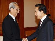 Südkoreas Präsident Lee Myung Bak