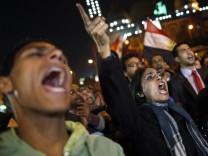 Protest against President Mohamed Morsi