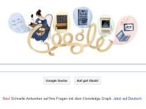 Google Doodle, Ada Lovelace, Computer, Google