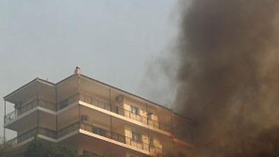 Waldbrände nahe Athen