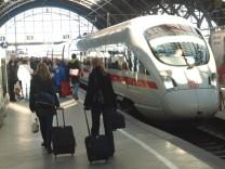 DB Reiseverkehr Lokfuehrerstreik