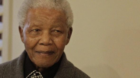 Nelson Mandela im Juli 2012 Südafrika