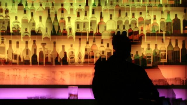 Bar Flaschen Whiskey