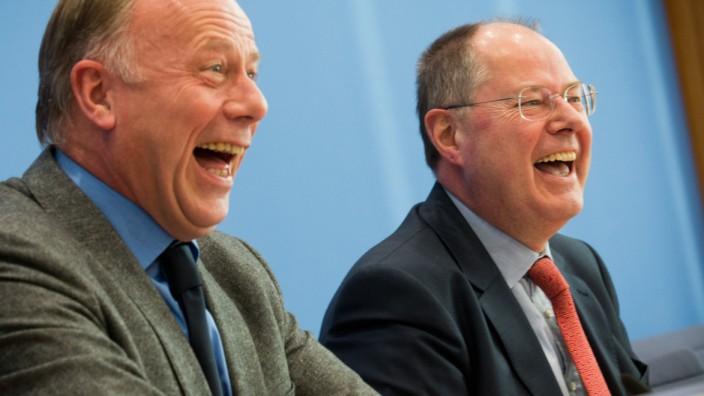 Peer Steinbrück und Jürgen Trittin