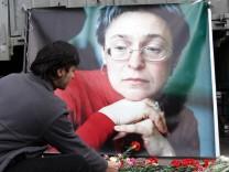 Russland erinnert an Politkowskaja-Mord